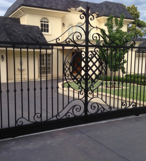 wrought iron gates melbourne
