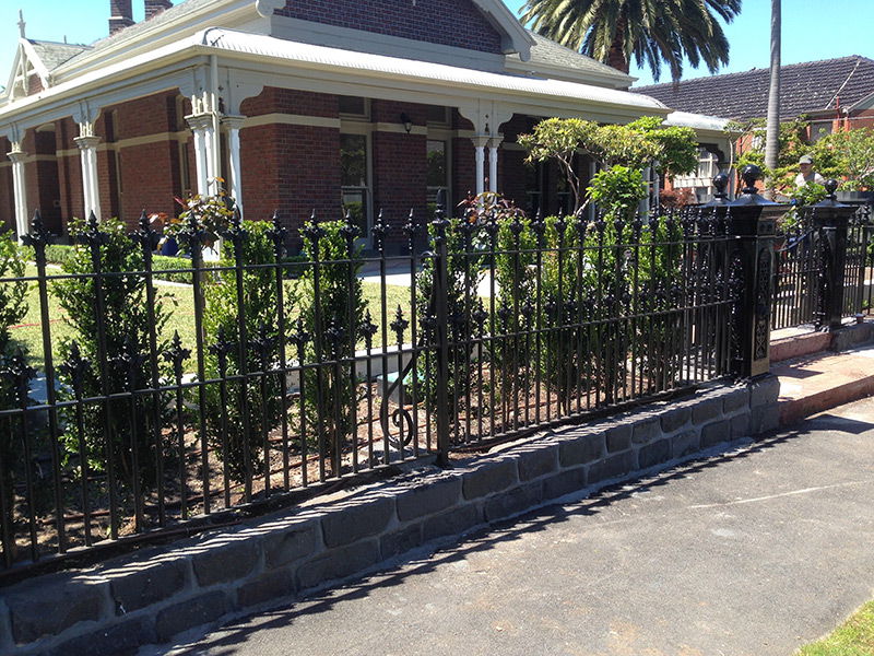 wrought iron fencing melbourne